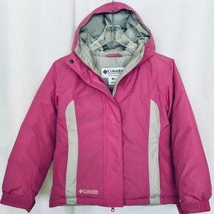 Columbia Girls Down Jacket Pink Size 10-12